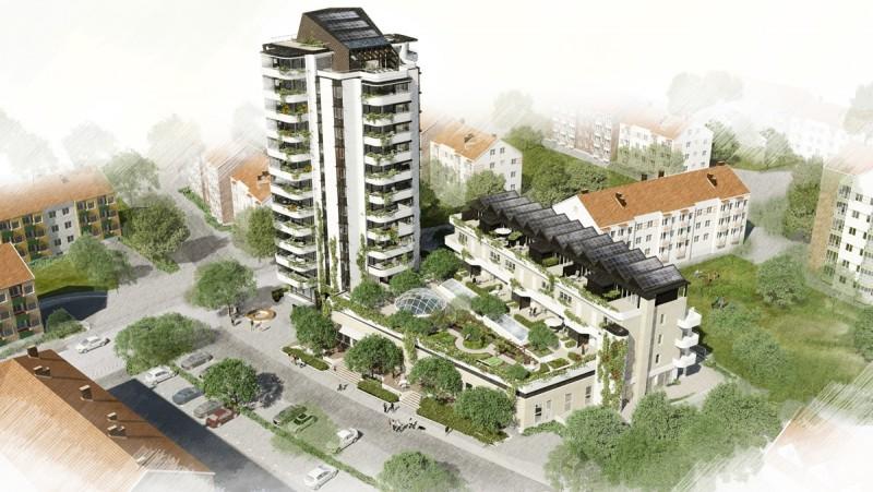 Green house – viviendas ecológicas. Mälmo